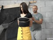 Katy Rose – Arjan – KATY ROSE BALL GAGGED WHIPPED AND SLAPPED