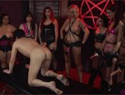 Kira Noir – Alison Rey – Andi Rye – Mistress Bella Bathory – Karla Lane – Sheena Ryder – Mistress Synful Pleasure – Marcelo – Mo Reese – Jimmy Broadway – Satanic Femdom Orgy