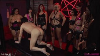 Kira Noir – Alison Rey – Andi Rye – Mistress Bella Bathory – Karla Lane – Sheena Ryder – Mistress Synful Pleasure – Marcelo – Mo Reese – Jimmy Broadway – Satanic Femdom Orgy