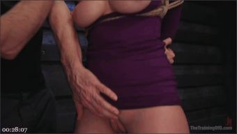 Seth Gamble – Violet Starr – Big Tits, Tight Dress, High Heels: New Slave Training Violet Starr