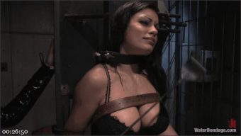 Isis Love – Waterbondage Exclusive! Aria Giovanni is here!