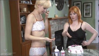 Mistress Irony – Ava Mir-Ausziehen – BDSM Birthday Gift