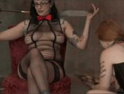 Bella Vendetta – Shiva – Ava Mir-Ausziehen – The Lower Floor – A Kink BDSM Parody!