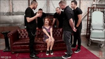Penny Pax – Redhead Real Estate Agent Penny Pax Tied Up & Pounded by 5 Huge Cocks