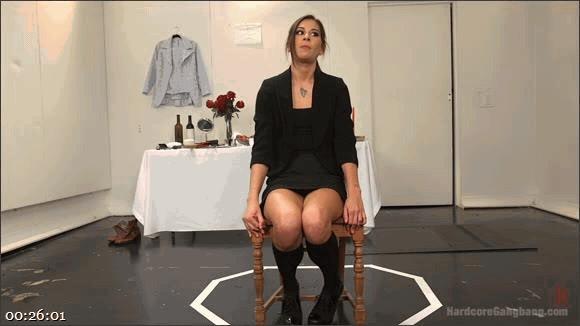 Kacie Castle – Mark Wood – Mr. Pete – John Johnson – Stallion – Marco Banderas – Rhythm Zero'd: Slutty Performance Artist Fucks Her Audience_cover