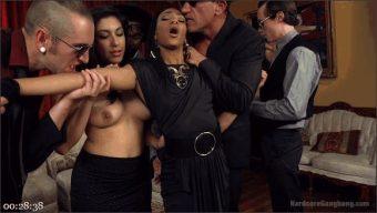 Nikki Darling – Gage Sin – John Johnson – Owen Gray – Tommy Pistol – Marco Banderas – An Insatiable Hunger: Nikki Ravaged by Lust-Crazed Vampires!
