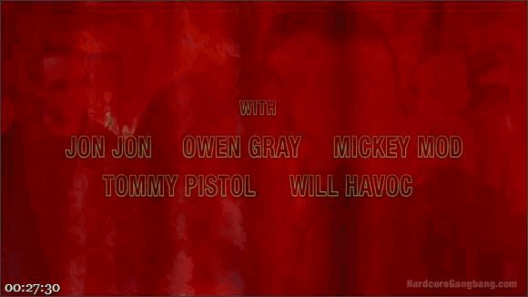 Amber Ivy – Tommy Pistol – Owen Gray – Will Havoc – Mickey Mod – Jon Jon – Damn Fine Pie! A Twin Peaks Parody Gangbang_cover