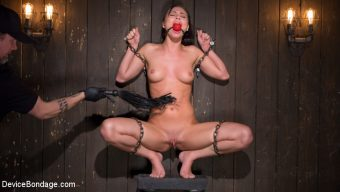 Aidra Fox – 19 year old is Devastated in Brutal Bondage