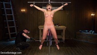 Charlotte Cross – Big Tit Brat Gets Diabolic Discipline