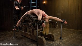 Mona Wales – Dominatrix is Destroyed with Brutal Domination in Strict Bondage