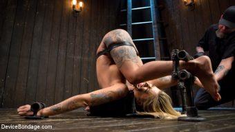Kleio Valentien – Super Sexy ALT Pain Slut Captured in Brutal Bondage and Tormented