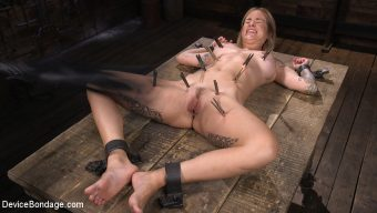 Sammie Six – Fresh Meat: Sammie Six Shackled in Grueling Bondage