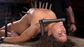 Victoria Voxxx – Victoria Voxxx Endures Extreme Torment in Grueling Steel Bondage