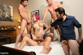 Anna Bell Peaks – Anna Bell's Pussy Gets Fisted And Double Pumped