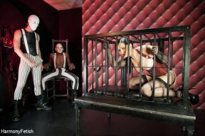Angell Summers – Masked Gimps Anally Ravage their Submissive
