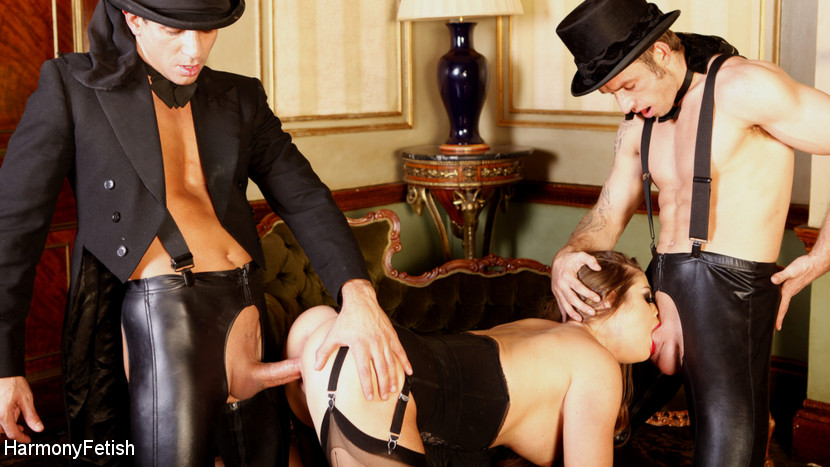 Cathy Heaven – Masked Men In Top Hats Fuck A Dirty Tramp_cover