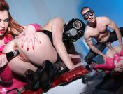 Angell Summers – Gas Masks and Gyno Chair