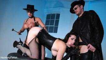 Carmen Jay – Dildo Fuck Machine and Hard Fucking In Sex Swing