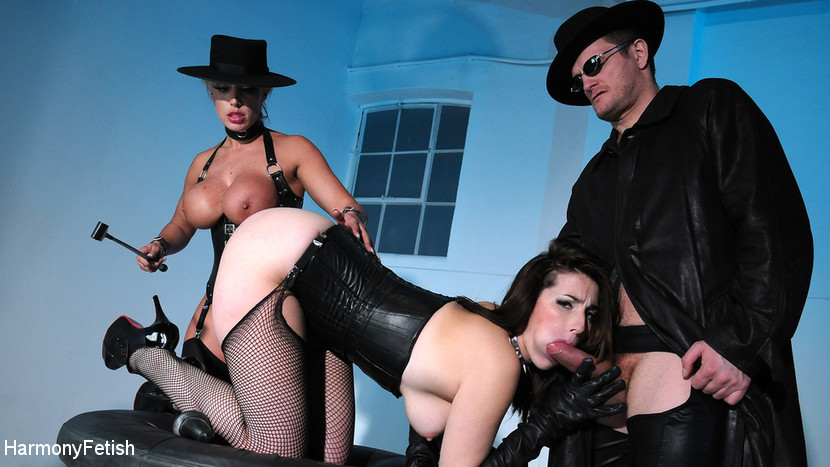 Carmen Jay – Dildo Fuck Machine and Hard Fucking In Sex Swing_cover