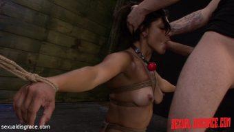 Valentina – Valentina Endures her First Rope Bondage Slave Training Session