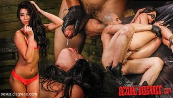Bruno Dickemz – Esmi Lee Endures BDSM, Rope Bondage & Rough Anal Sex