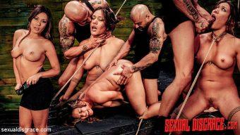 Mena Li – Mena Li Endures the Sybian Fucking Machine & Rough Rope Bondage Sex