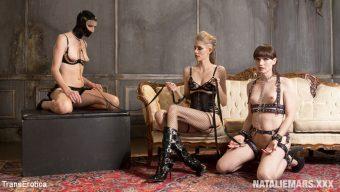 Natalie Mars – Cuckold Fetish Threesome