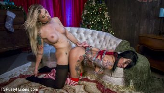 Lily Lane – All Lily Lane wants for Christmas is a Nice Hard Cock