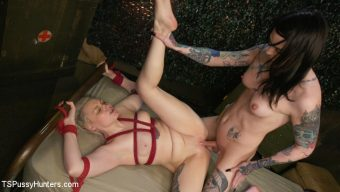 Chelsea Marie – Chelsea Marie Pounds Strong-Willed Arielle Aquinas Into Submission