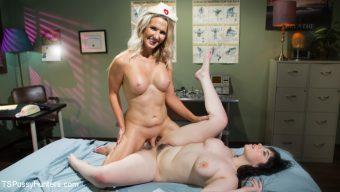 Kayleigh Coxx – Sexsomnia: Amilia Onyx Dreams of Hot Trans Lesbian Nurse Kayleigh Coxx