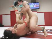 Izamar Gutierrez – Orgasm On the Mat! Penny Barber gets a huge lead in Round 1