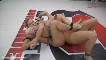 Rizzo Ford – Beautiful, Powerful Blonde Wrestler is Destroyed on the Mats