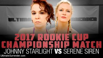 Johnny Starlight – 2017 Rookie Cup Championship Match: Johnny Starlight vs Serene Siren