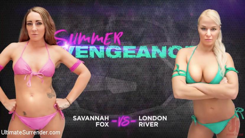 Savannah Fox – Savannah Fox vs London River_cover