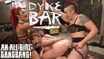 Mistress Kara – Dyke Bar: An All Girl Gangbang!