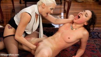 Lilith Luxe – Lesbian Professor Seduces and Dominates Hot Co-Ed!