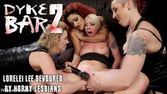 Daisy Ducati – Dyke Bar 2: Lorelei Lee Devoured by Hot Horny Lesbians!
