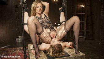 Ella Nova – Mona Wales has her way with submissive anal slut Ella Nova!