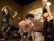 Helena Locke – Lazy Mechanic Nikki Hearts Gets Tag-Teamed by Boss & Client