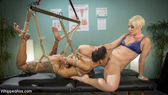Helena Locke – Lesbian Orgasm Clinic: Hot Patient Prescribed BDSM Squirting Therapy