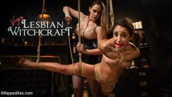Chanel Preston – Virgin Lesbian Witchcraft: Chanel Preston Enchants Isabella Nice