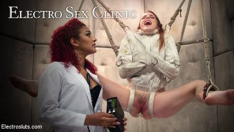 Daisy Ducati – Electro Sex Clinic: Curing hysteria through lesbian electro orgasms!