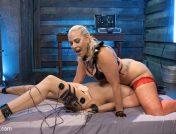 Angel Allwood – Buxome Blonde Elextrosexes Horny Little Slut