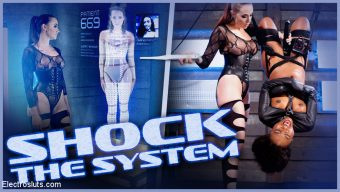 Chanel Preston – Shock the System: Sexual deviant bound & lesbian electrosexed!