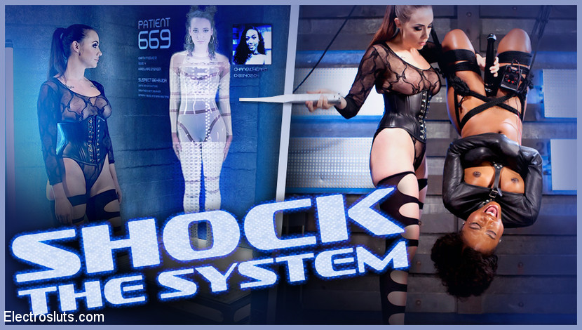 Chanel Preston – Shock the System: Sexual deviant bound & lesbian electrosexed!_cover
