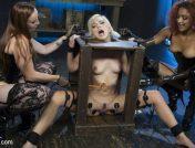 Daisy Ducati – Hot Electro Sex Toy: Lesbian Slut Bound, Shocked, and Fucked!