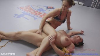 Brandi Mae – Muscle on Muscle Only One can Win and Only One gets Fucked