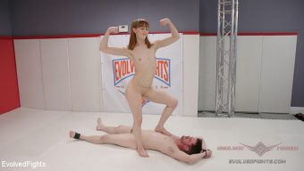 Alexa Nova – Two petite fighters throw down. The Winner pisses on the loser.