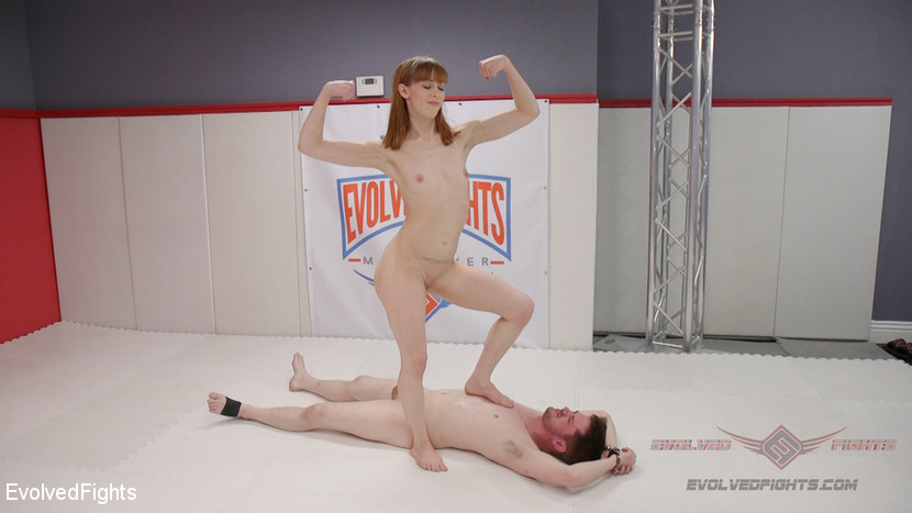 Alexa Nova – Two petite fighters throw down. The Winner pisses on the loser._cover