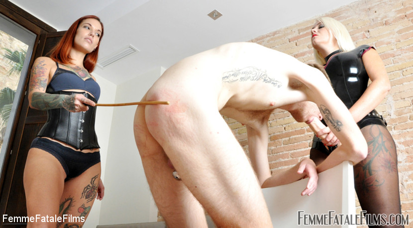 Slave – Cock Gagged Caning_cover